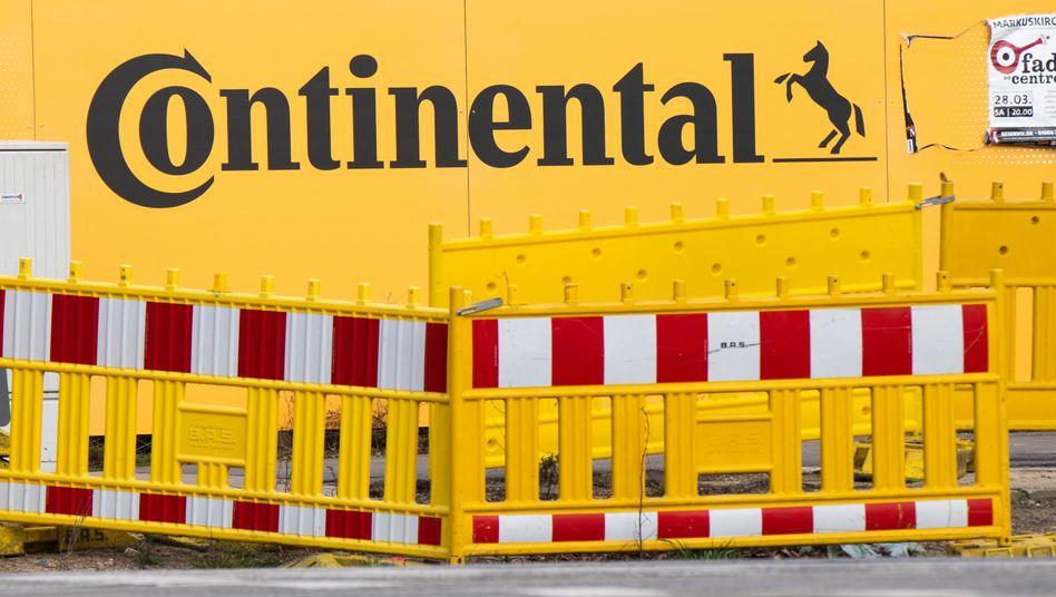636 Millionen Verlust: Continental rutscht in die roten Zahlen.
