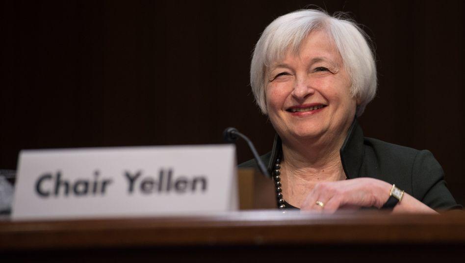 """Fed-Präsidentin Yellen vor der Zinswende: """"Wir freuen uns darauf"""""""