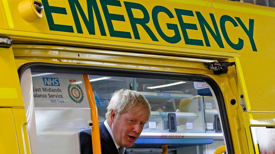 Favorit Boris Johnson: Nicht nur der NHS ist in kritischem Zustand