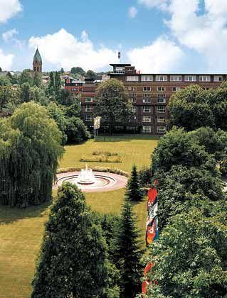 Von der Ruhr in die ganze Welt: Tengelmann-Zentrale in Mülheim