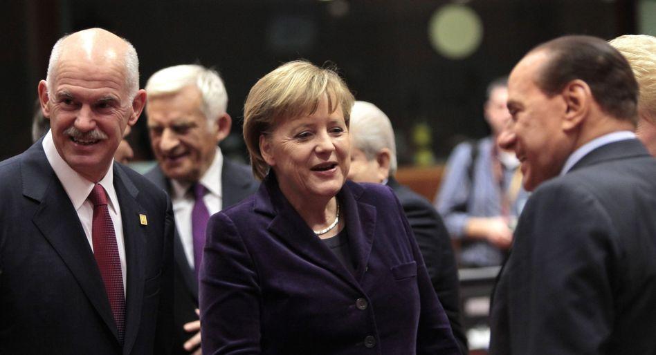 Merkel und Kollegen beim Brüssel-Gipfel: Bald neuer Rettungsfonds?