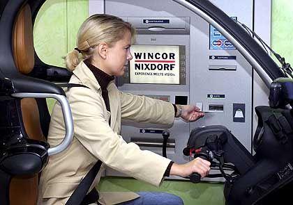 Lukratives Geschäft: Die Wartung seiner Automaten beschert Wincor Nixdorf bereits mehr als ein Drittel vom Umsatz