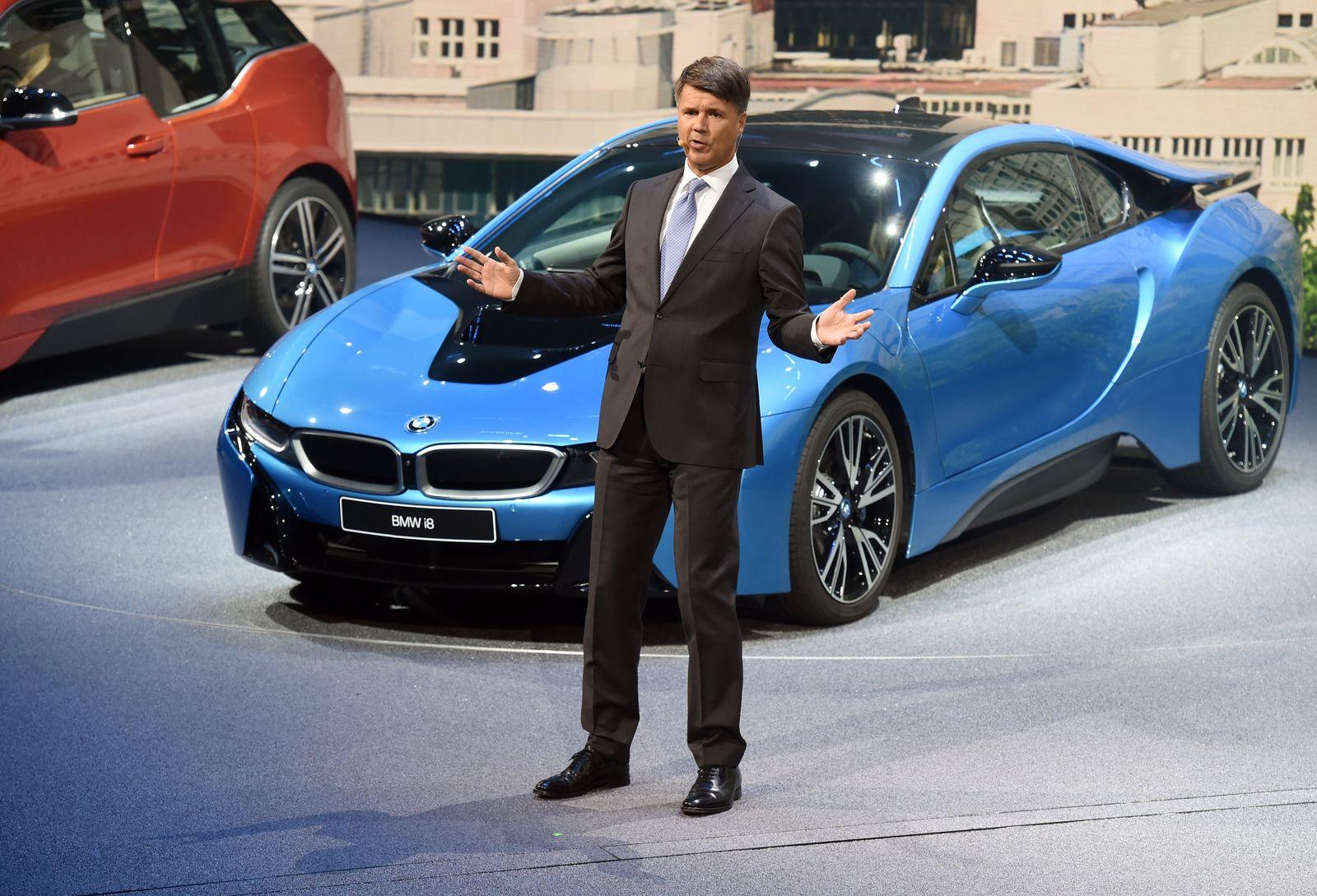 IAA Frankfurt - BMW; Krüger Zusammenbruch