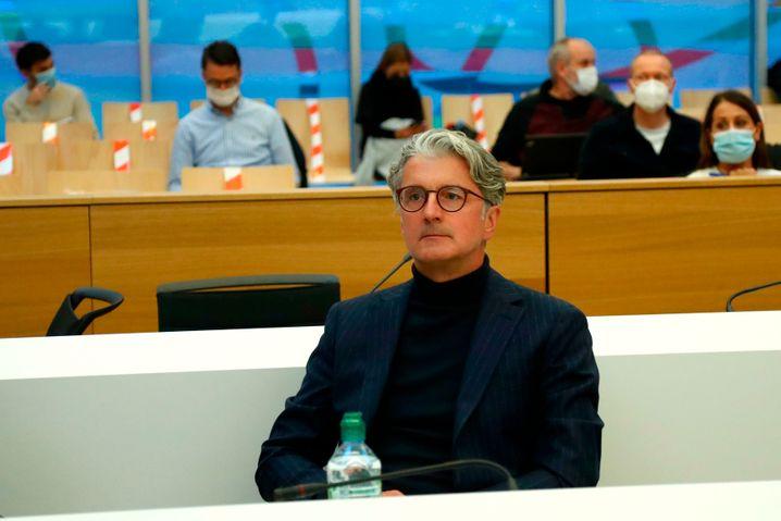 Auf der Anklagebank: Rupert Stadler an Tag zwei.