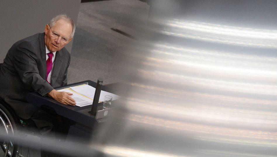 Bundesfinanzminister Wolfgang Schäuble: Deutsches Parlament muss über neue Griechenlandhilfen informiert werden