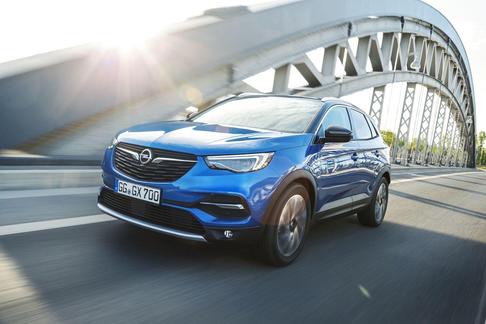 EINMALIGE VERWENDUNG Opel Grandland X