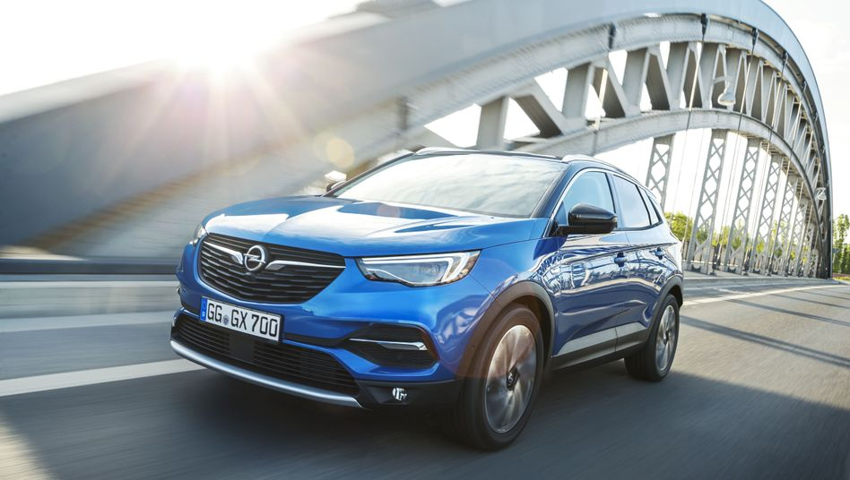 Opel-SUV Grandland X: Der Wagen steht bereits auf einer PSA-Plattform