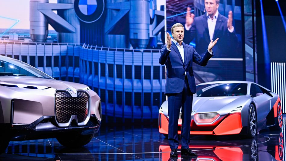 Industriekapitän: BMW-Chef Oliver Zipse auf der Internationalen Automobilausstellung 2019