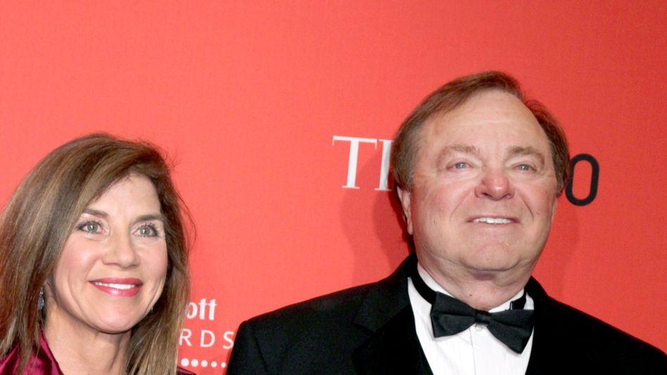 Im April 2012 besuchten Harold und Sue Ann Hamm noch gemeinsam die Time-100-Gala - wenige Monate später stritten sie bereits vor Gericht