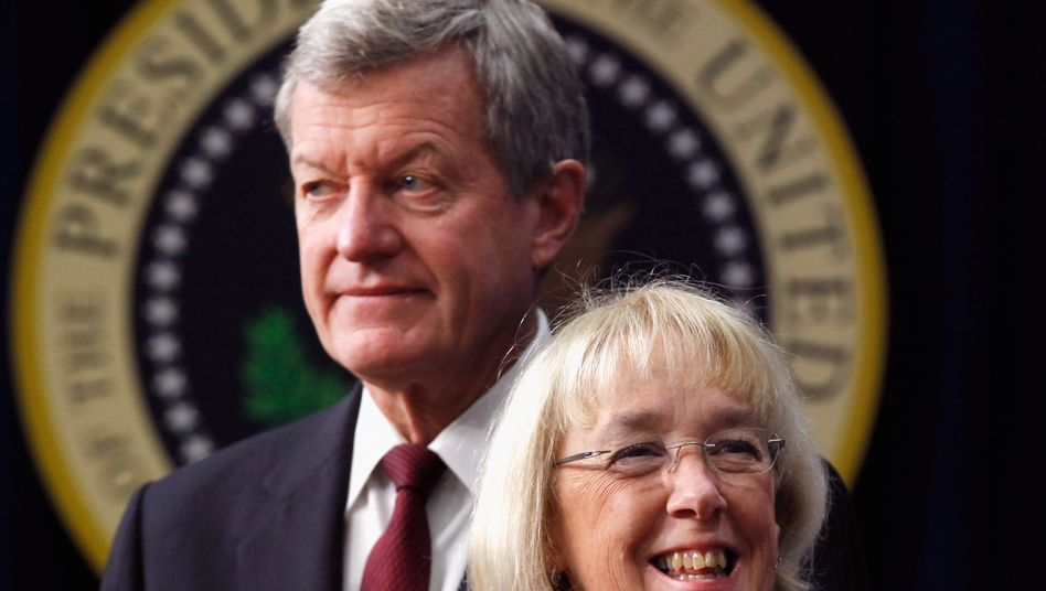 """Gescheiterte Vorsitzende des """"Gemeinsamen Ausschusses zur Schuldenreduzierung"""": Die stellvertretende Vorsitzende Patty Murray und Senator Max Baucus müssen nach zweimonatiger Verhandlung aufgeben"""