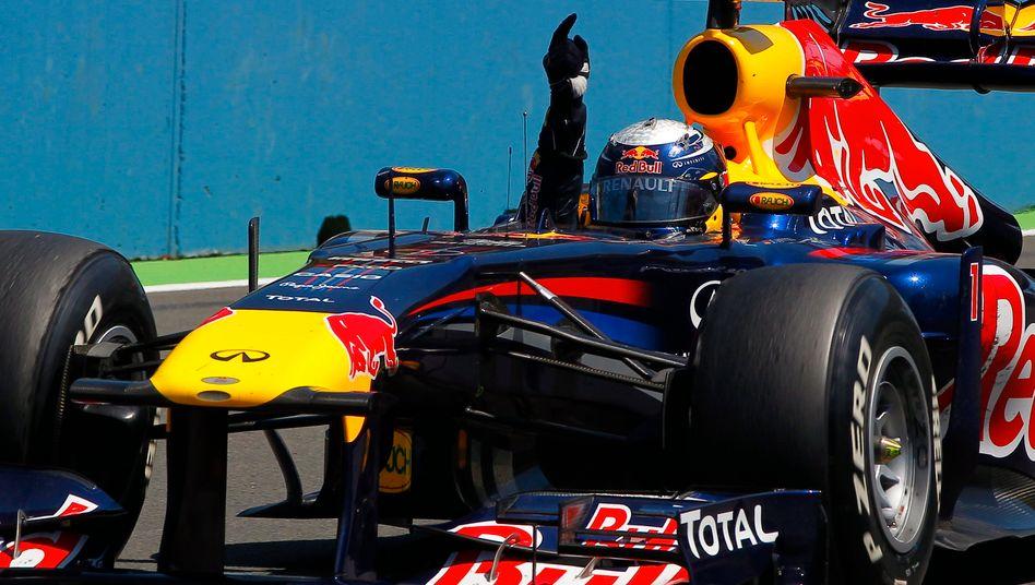 Pilot beim Formel 1-Rennen: Ein langfristiges Geschäft mit kurzfristigen Interessenten