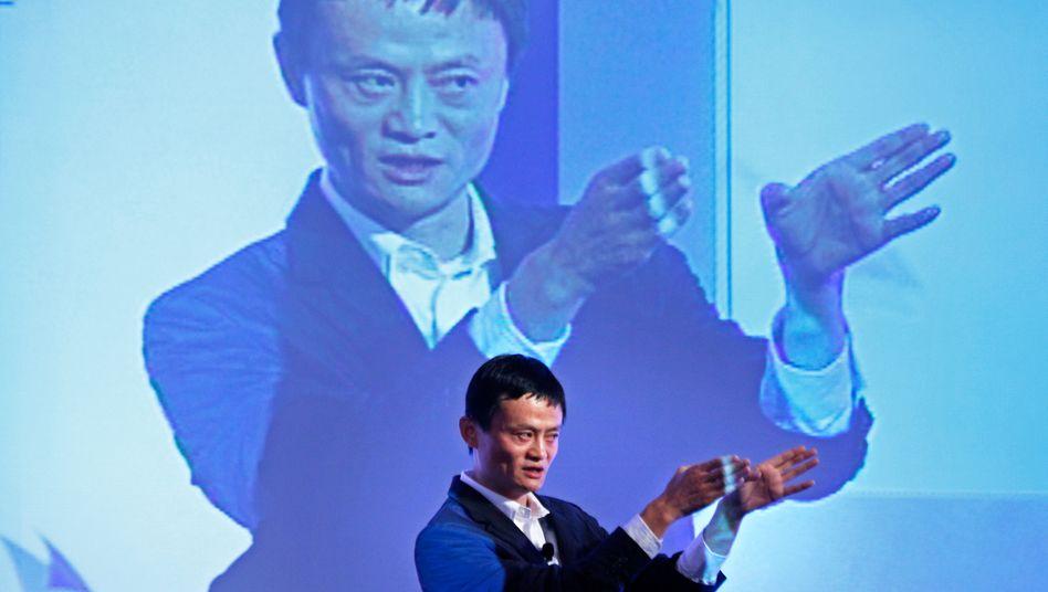 Jack Ma: Der Alibaba-Gründer wird von Peking unter Druck gesetzt
