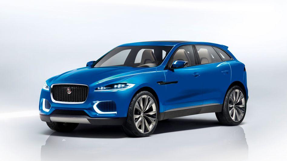 Jaguar Crossover-Konzept C-X17: