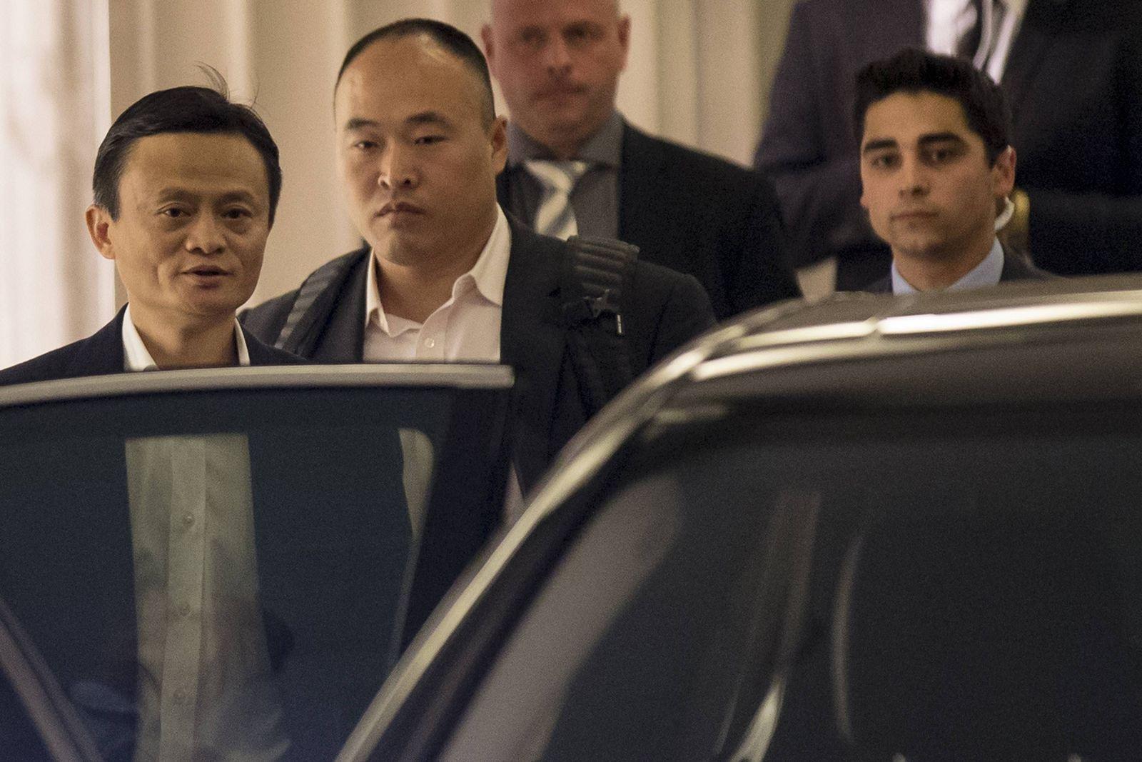 Jack Ma / Alibaba roadshow