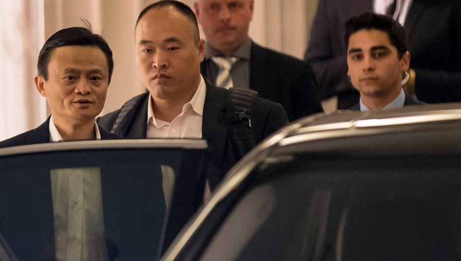 """Alibaba-Gründer Jack Ma in New York: """"Es war eine schwere Entscheidung - aber es war auch eine gute Entscheidung"""""""