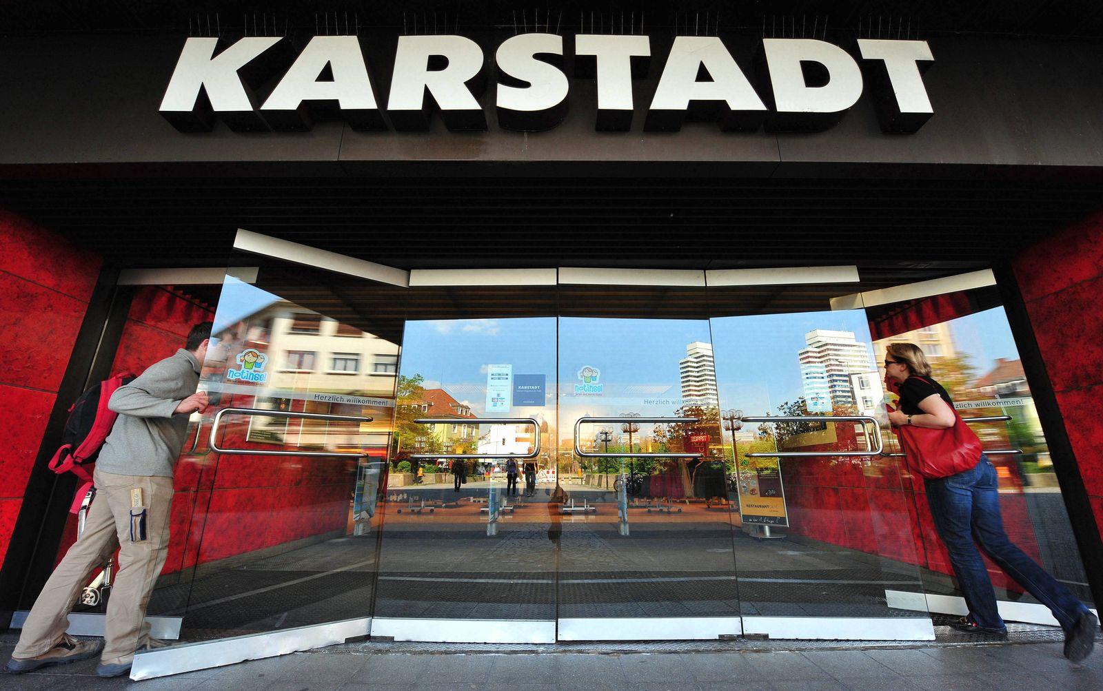NICHT VERWENDEN Karstadt-Filiale
