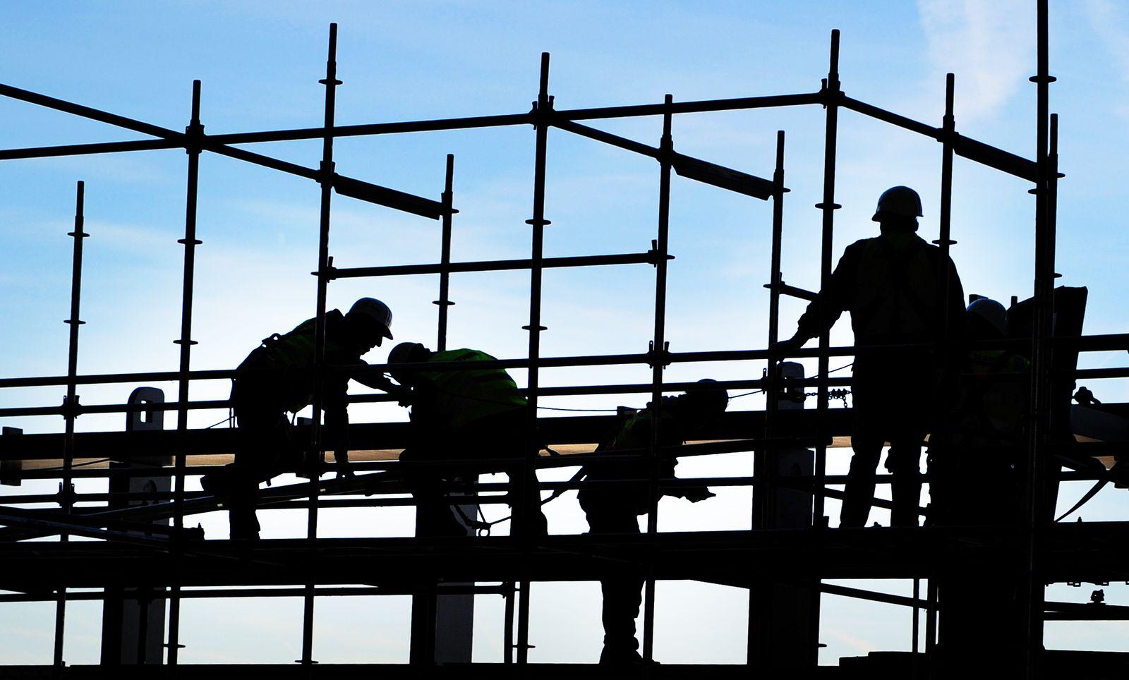 Deutschland / Konjunktur / Wirtschaft / Arbeiter schweißt / Arbeitsmarkt /Bauarbeiter