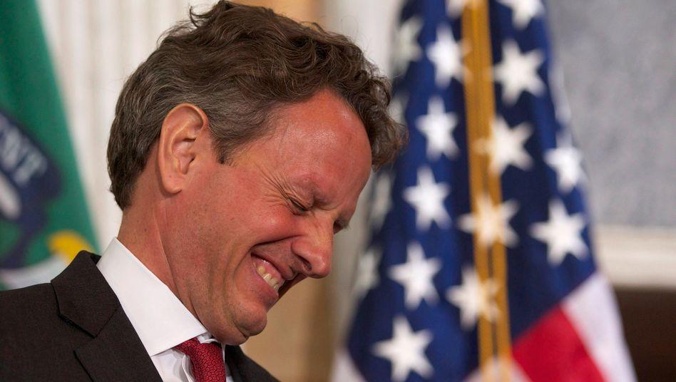 US-Finanzminister Geithner kann sich über ein Plus von 59 Milliarden Dollar in der Kasse freuen