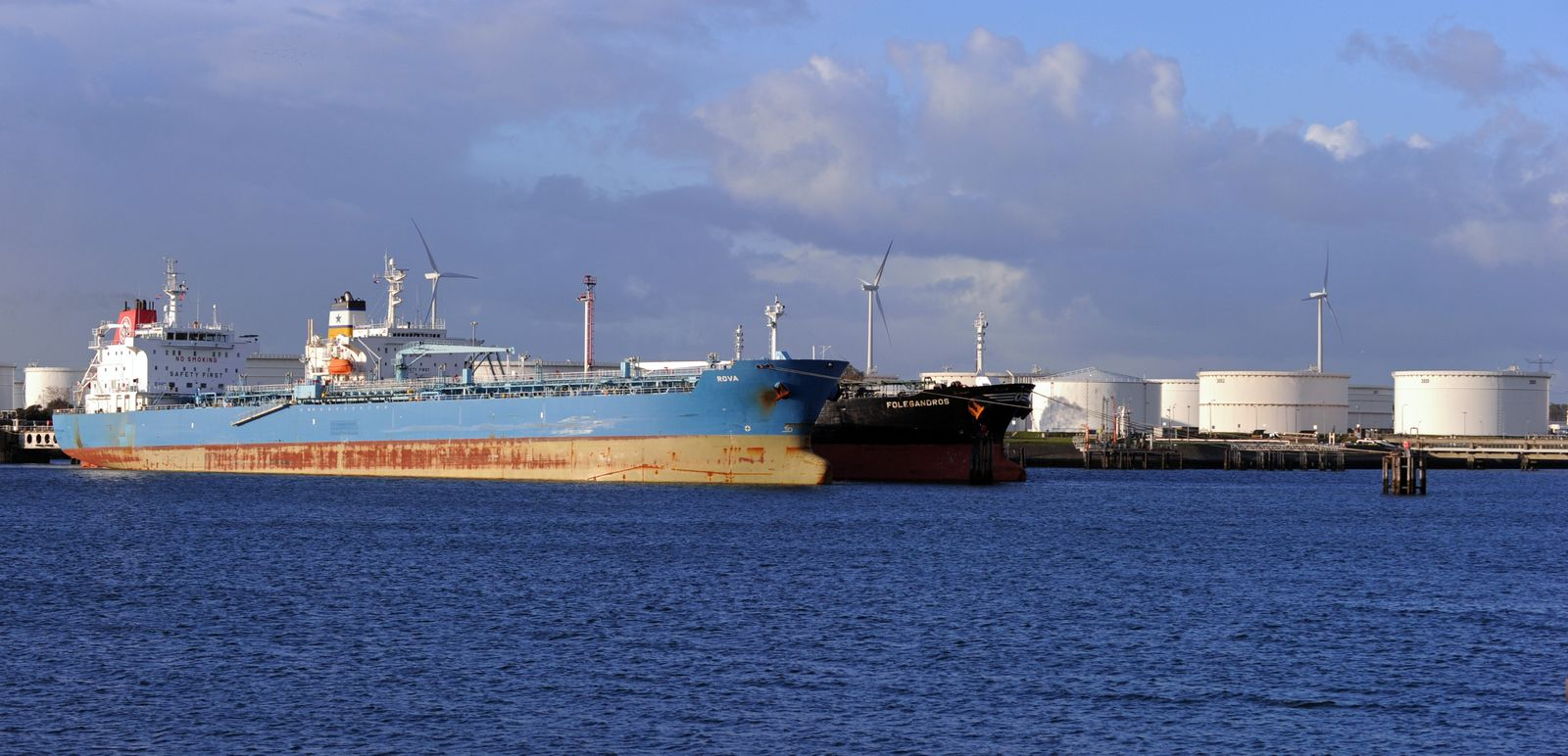 Ölhafen Rotterdam / Öltanker