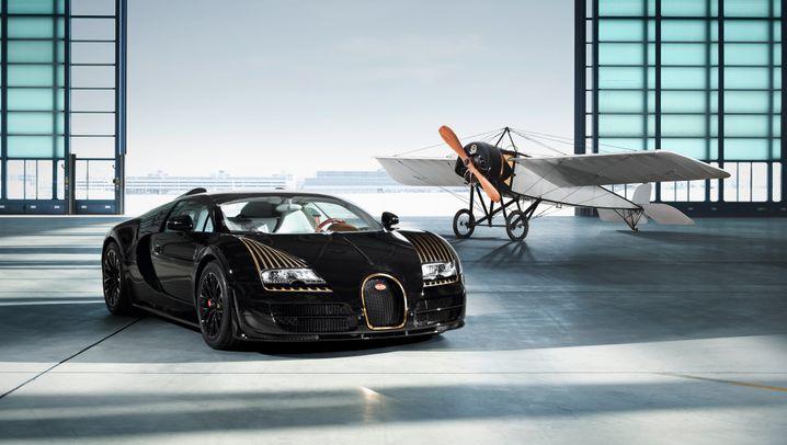"""Bugatti """"Black Bess"""": Das Rennpferd unter den Supersportwagen"""