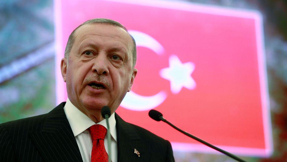 Der türkische Präsident Recep Tayyip kann Dank seiner Machtfülle agieren wie er will