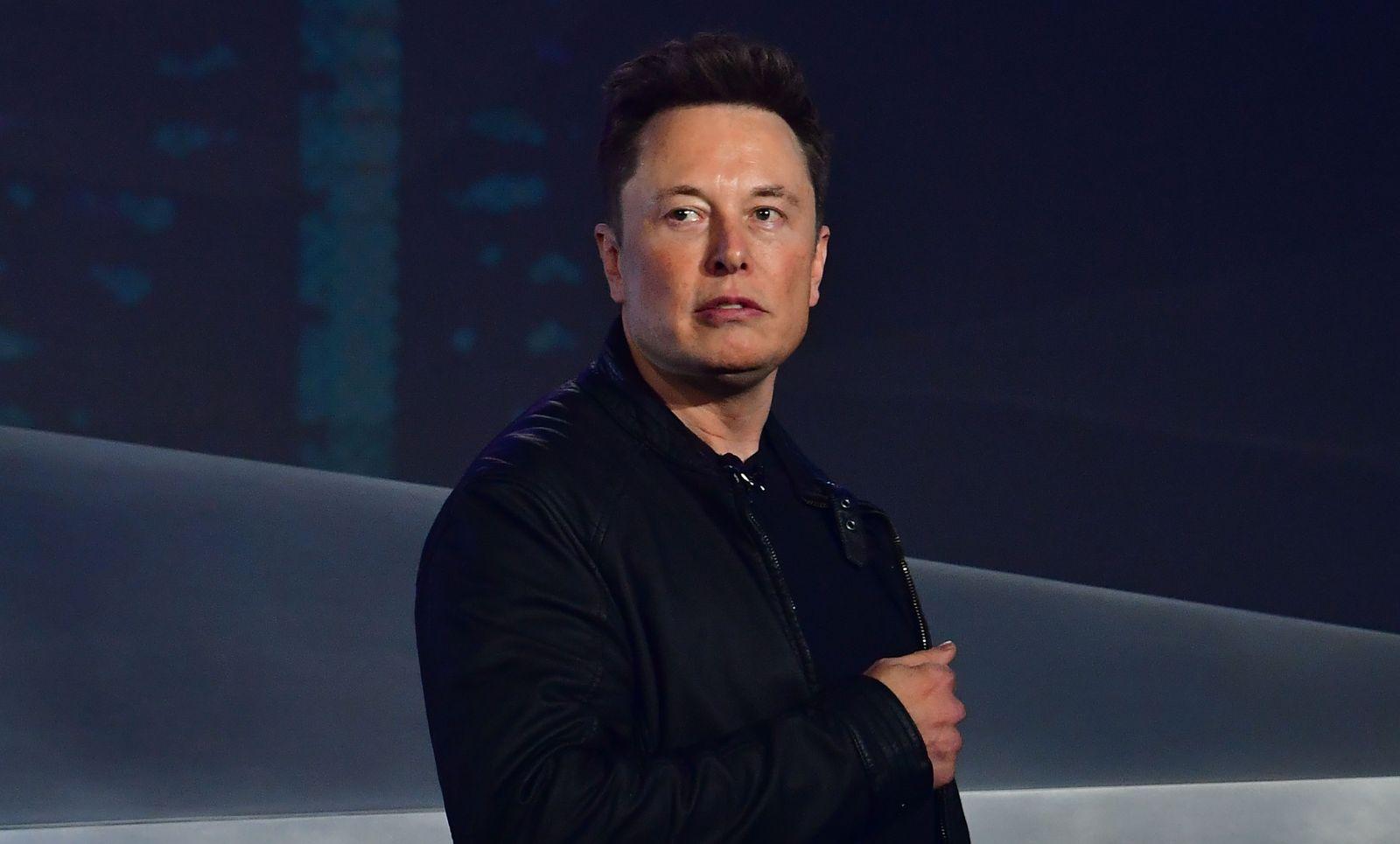 Elon Musk/ Cybertruck Präsentation