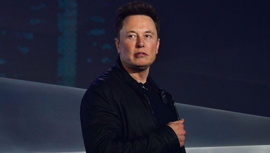 """Tesla-Chef Elon Musk: """"Ein Fortbestand der Produktion am Standort Fremont hängt davon ab, wie die Firma dort künftig behandelt wird."""""""