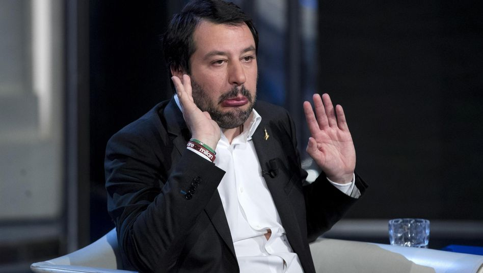 Lega-Chef Matteo Salvini: Arbeit an der Regierungsbildung
