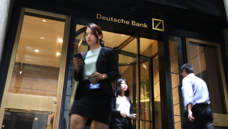 Die Geschäftsräume der Deutschen Bank in New York: Trumps Bankerin reichte ihre Kündigung ein