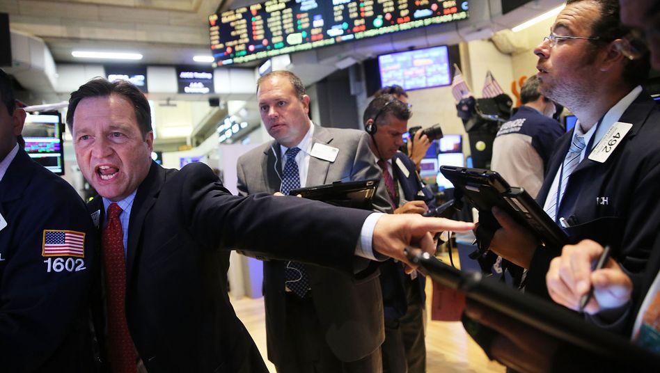 Handelssaal in New York: Streuen, Kosten sparen - und nicht immer der Herde folgen