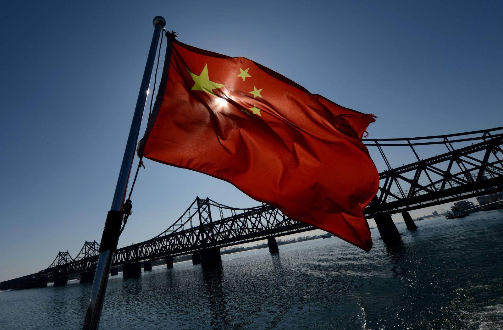 China / chinesische Flagge