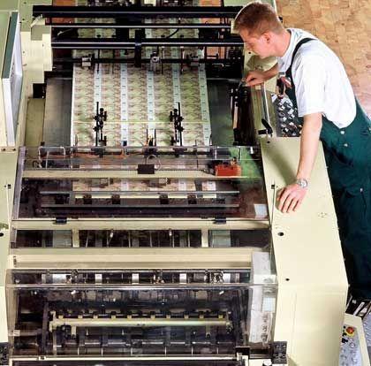 Bundesdruckerei: Mithilfe der Notenpresse aus der Krise?
