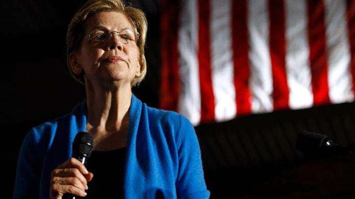 Rennen um US-Präsidentenwahl: Auch Elizabeth Warren gibt den Kampf ums Weiße Haus auf