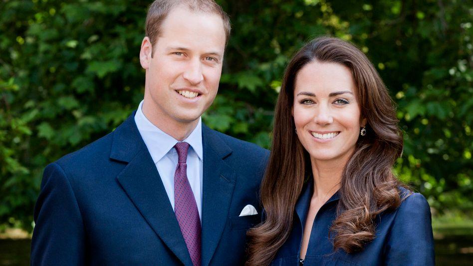 Prinz William und Gattin Kate: Wegen der wirtschaftlichen Lage Großbritanniens werden die beiden nur von sieben Bediensteten begleitet