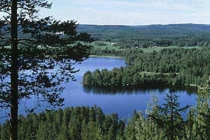 In der Ruhe liegt die Kraft: Finnische Landschaft