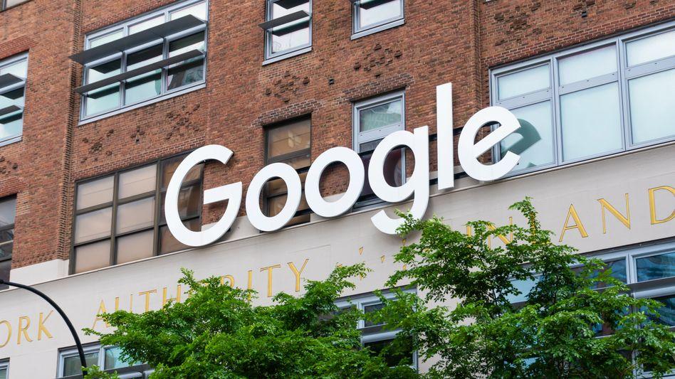 Google-Gebäude in New York (Archivfoto)