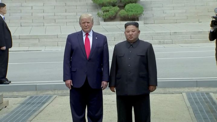 """Donald Trump trifft Kim Jong Un: """"Es ist eine Ehre hier zu sein"""""""
