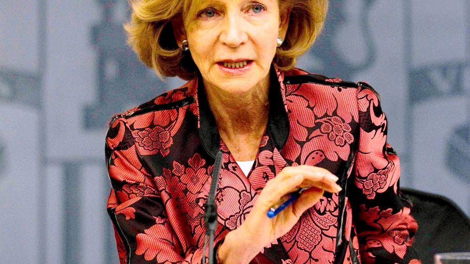 Geschafft: Spaniens Finanzministerin Salgado