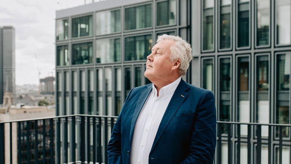 Trend-Friend: Für sein erstes Interview als Upfield-Chef verließ der Brite David Haines erstmals seit Ende Februar sein Homeoffice