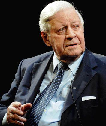 """""""Weltfinanzkonferenz"""": Altkanzler Schmidt fordert stärkere Kontrolle"""