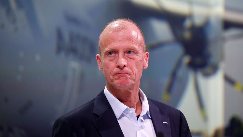 Airbus-Veteran: Tom Enders, noch als Airbus-Konzernchef, im Februar 2019 in Toulouse