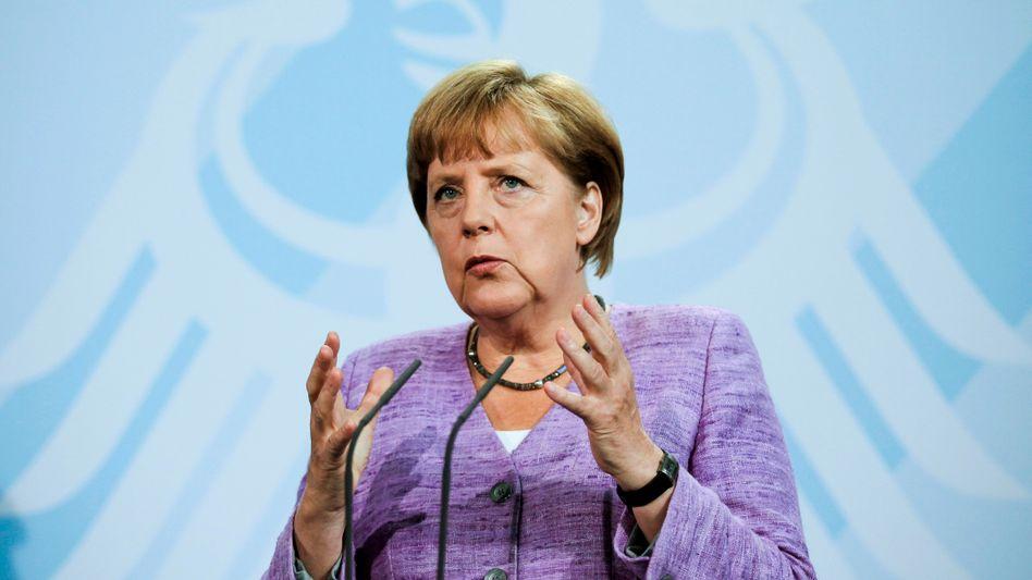 Bundeskanzlerin Angela Merkel: Subventionen für wirtschaftsschwache Gebiete in Deutschland über das Jahr 2019 hinaus