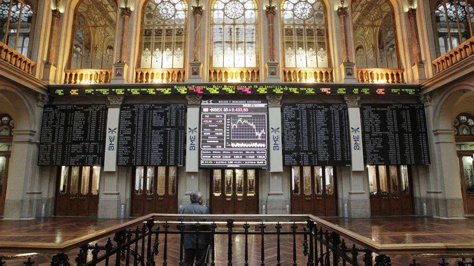 Börse in Madrid: Investoren nehmen Spanien ins Visier
