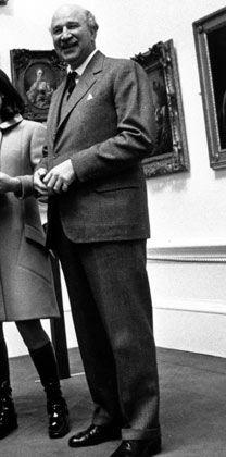 Vollendeter Gentleman: Rothschild im Jahr 1968