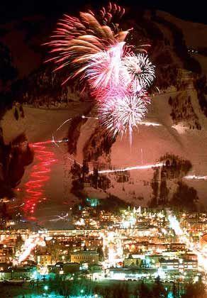 Winterskol Festival: Feuerwerk inklusive