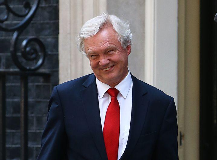 Brexit-Minister David Davis, innerparteilicher May-Rivale