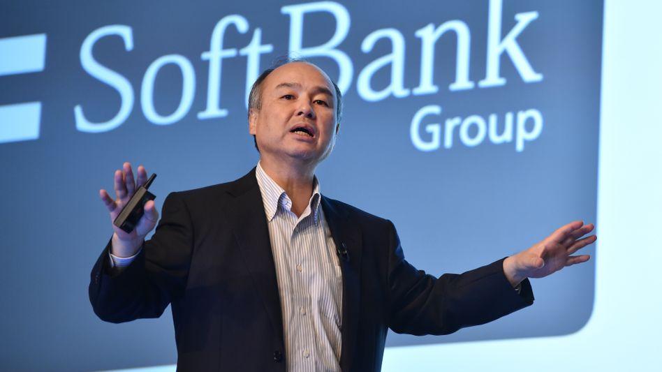Softbank-Chef Masayoshi Son nutzt offenbar die Krise bei Uber aus