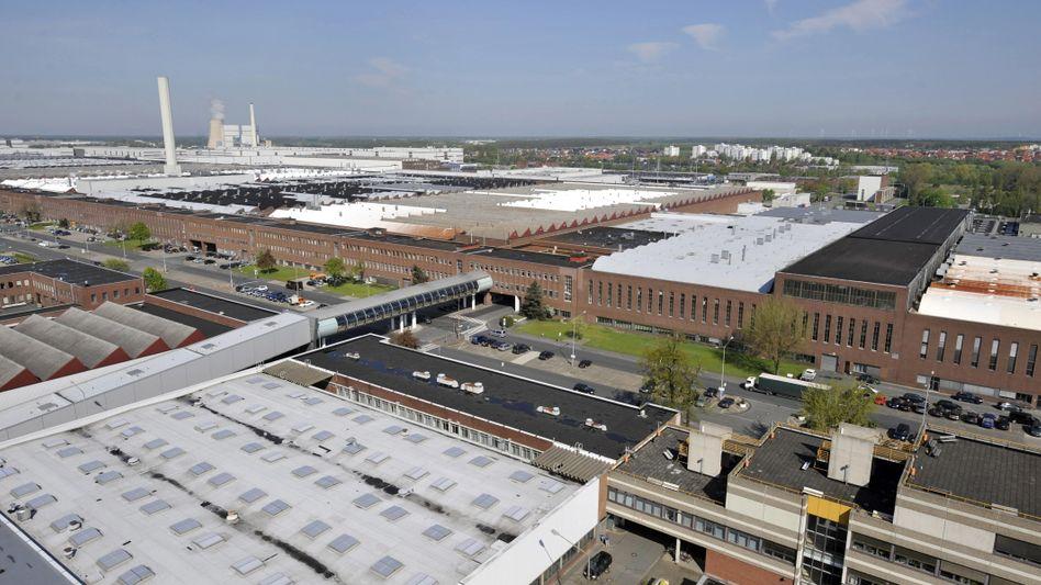 Zu heiß gelaufen: VW-Stammwerk Wolfsburg