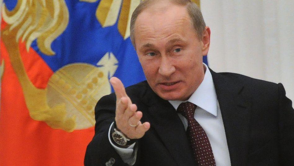 Russlands Präsident Putin: Weist er Zypern den Weg aus der Krise?