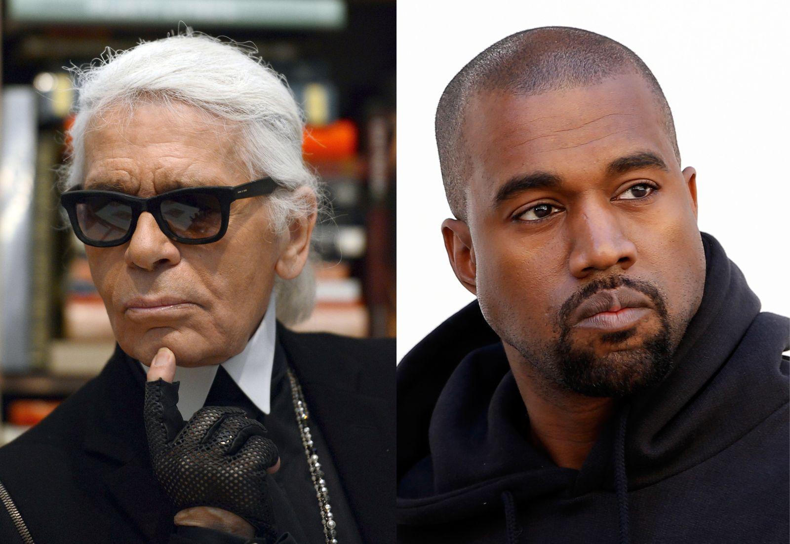 Karl Lagerfeld/ Kanye West